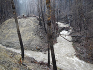 Buried in mud: Wildfires threaten North American water supplies