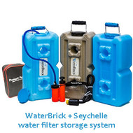 Water filtration and storage made easy