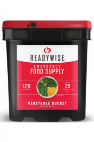 Wise freeze dried vegetable pack