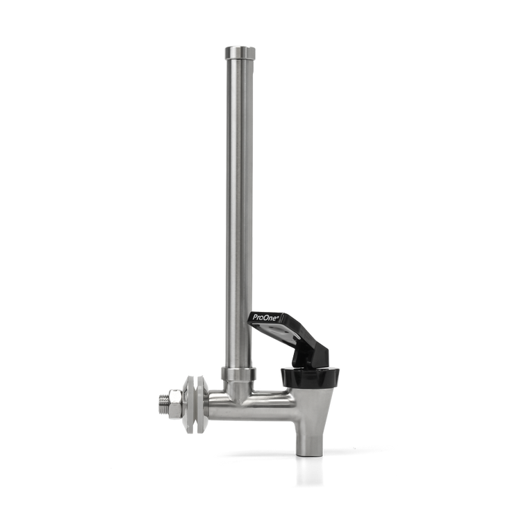Sight glass spigot