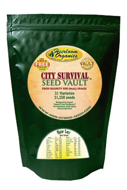 City Survival Seed Collection