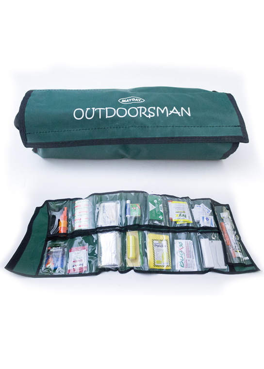 Outdoor survival first aid kit