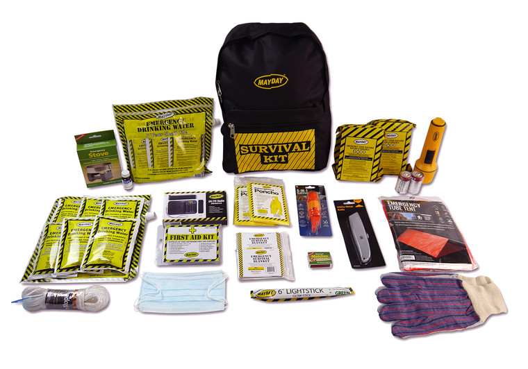 Deluxe 2 person emergency backpack
