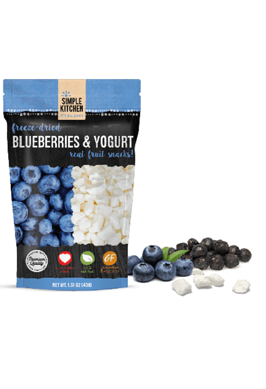 Wise blueberries & yogurt