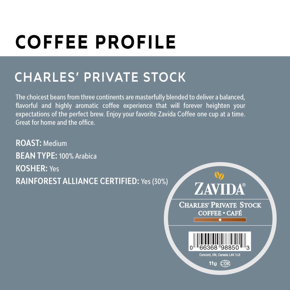 Charles' Private Stock Single Serve Coffee Cups - 24ct