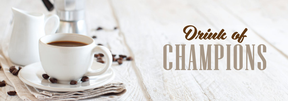 Coffee: The Drink of Champions?