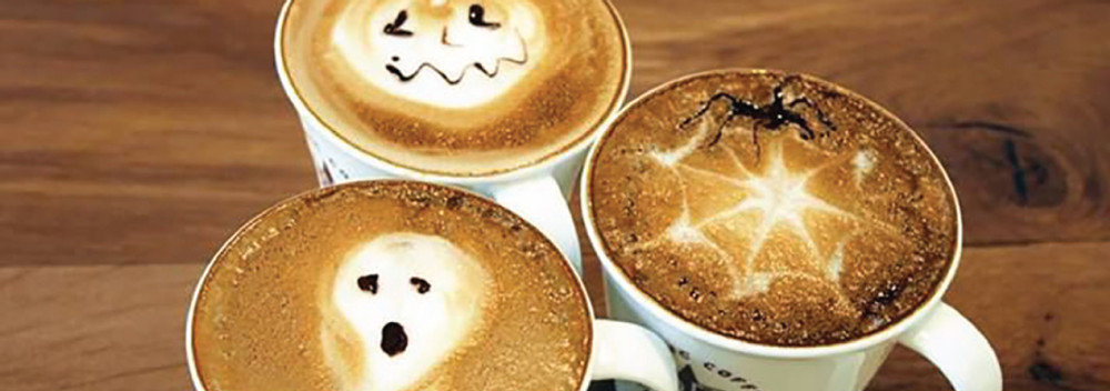 6 Halloween Inspired Latte Art Creations