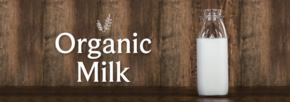 Organic Milk at No Extra Charge