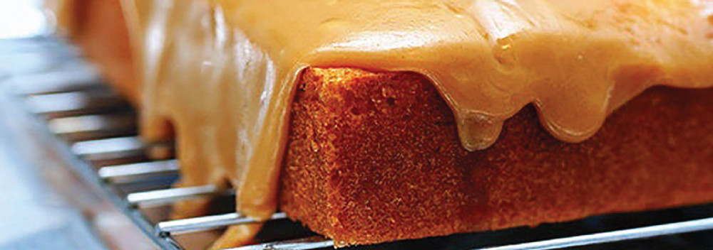 Caramel Royale Coffee Sponge Cake Recipe