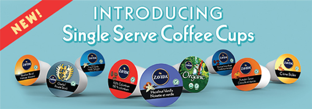 Zavida Single Serve Coffee Cups are Here!
