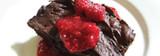 Raspberry Chocolate Coffee Pudding Cake