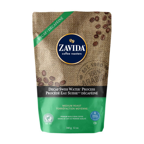 Zavida Coffee, Decaf Colombian, 12 oz Bag