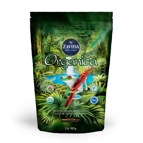 Zavida Coffee, Wholesale Organica, 2LB Whole Bean Bag