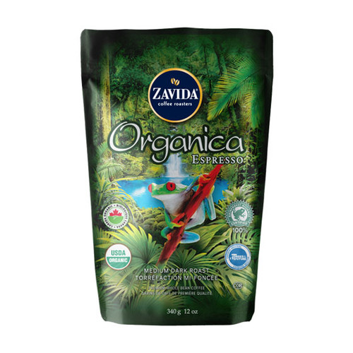 Zavida Coffee, Organica Espresso, 12 oz Bag