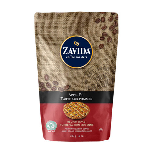Zavida Coffee, Apple Pie, 12 oz Bag