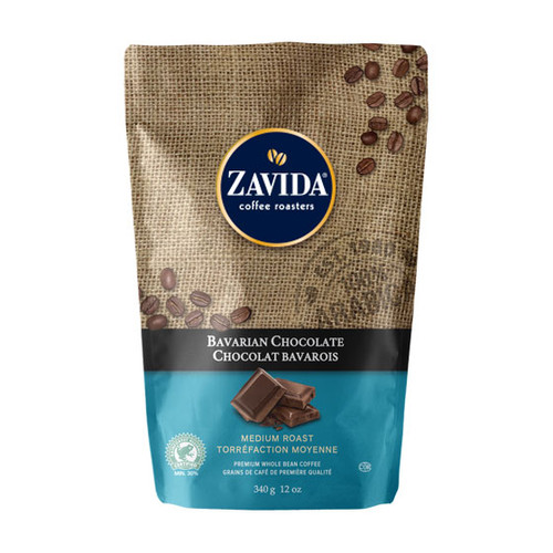 Zavida Coffee, Bavarian Chocolate, 12 oz Bag