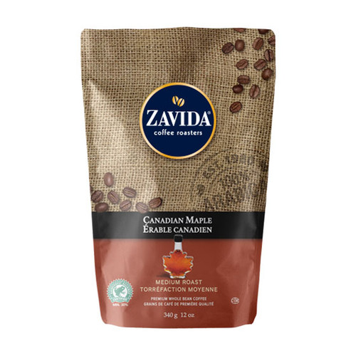 Zavida Coffee, Canadian Maple, 12 oz Bag