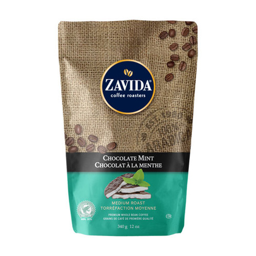 Zavida Coffee, Chocolate Mint, 12 oz Bag