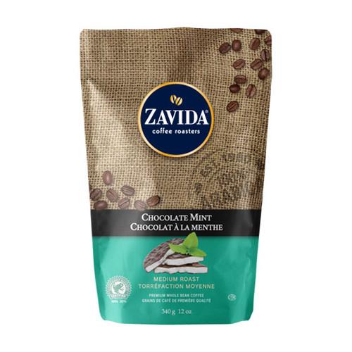 Zavida Coffee, Chocolate Mint, 12 oz Bag