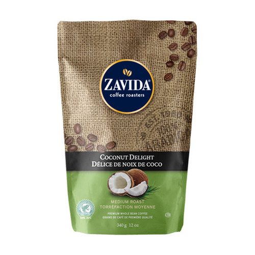 Zavida Coffee, Coconut Delight, 12 oz Bag