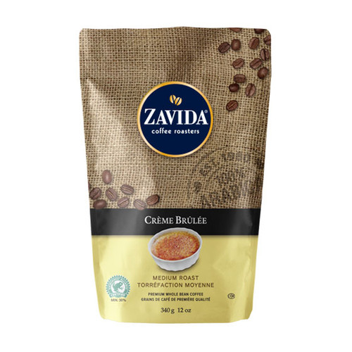 Zavida Coffee, Creme Brulee, 12 oz Bag