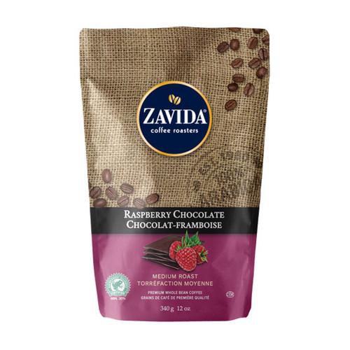 Zavida Coffee, Raspberry Chocolate, 12 oz Bag
