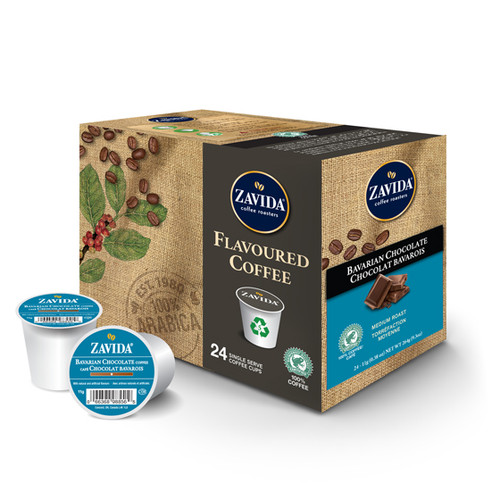 Zavida, Bavarian Chocolate, Single Serve Box (24 count)