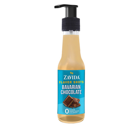 Zavida Coffee, Bavarian Chocolate, 148mL Bottle of Flavor Shots