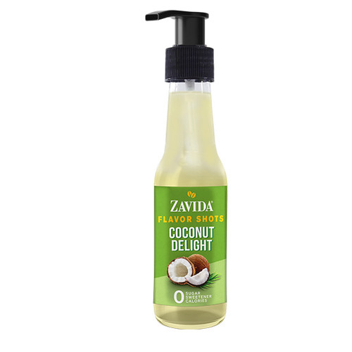Zavida Coffee, Coconut Delight, 148mL Bottle of Flavor Shots