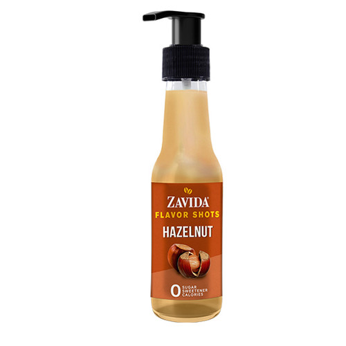 Zavida Coffee, Hazelnut, 148mL Bottle of Flavor Shots