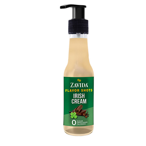 Zavida Coffee, Irish Cream, 148mL Bottle of Flavor Shots