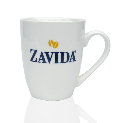 Zavida Coffee, Cafe Mug, 12 oz