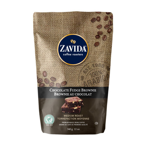 Zavida Coffee, Chocolate Fudge, 12 oz Bag