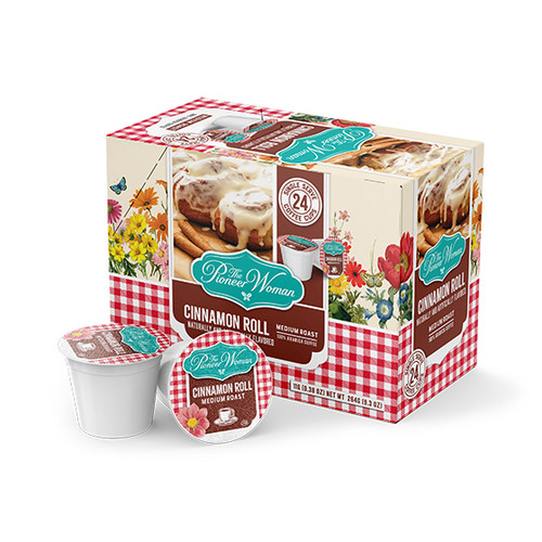 Cinnamon Roll Single Serve Coffee Cups - 24ct