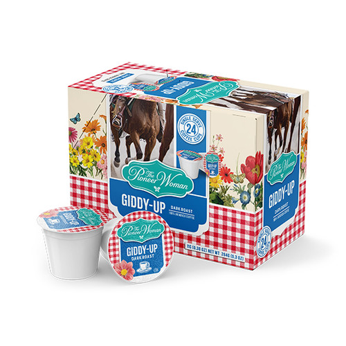 Giddy-Up Single Serve Coffee Cups - 24ct