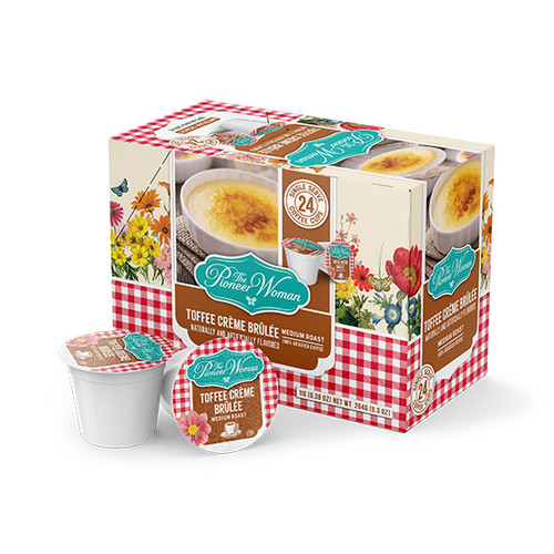 Toffee Crème Brûlée Single Serve Coffee Cups - 24ct