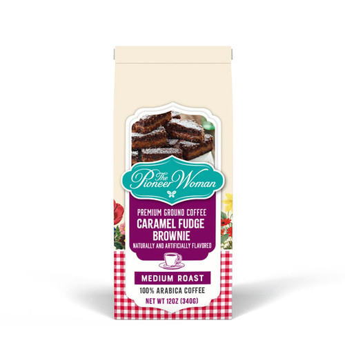 Caramel Fudge Brownie Coffee