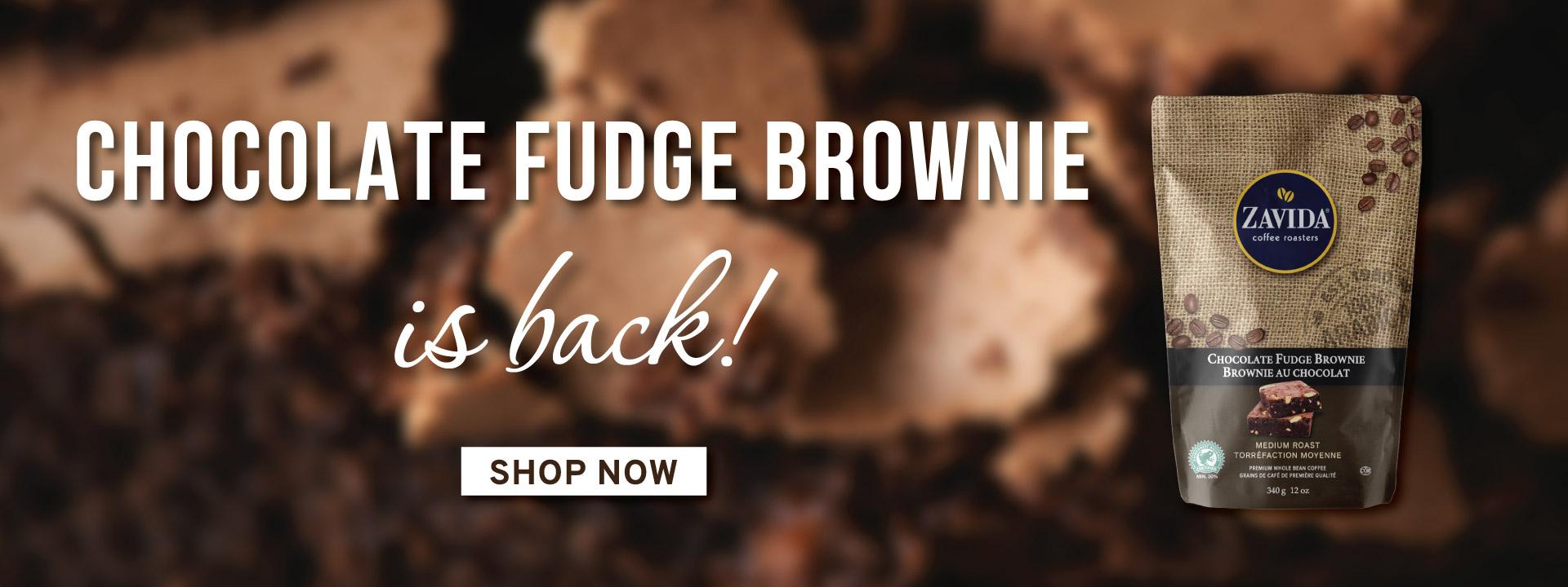 Chocolate Fudge Brownie Is Back