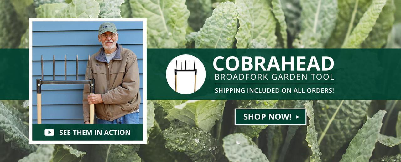 Broadfork Garden Tool