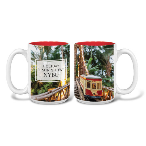 Holiday Train Show Photo Mug