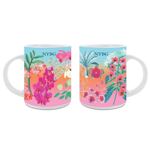 NYBG Orchid Mug
