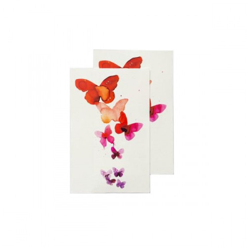 Tattly Watercolor Butterfly Temporary Tattoos