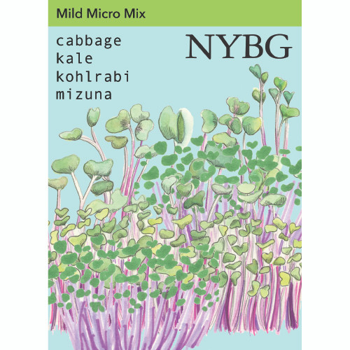 NYBG Seeds - Mild Microgreen Mix