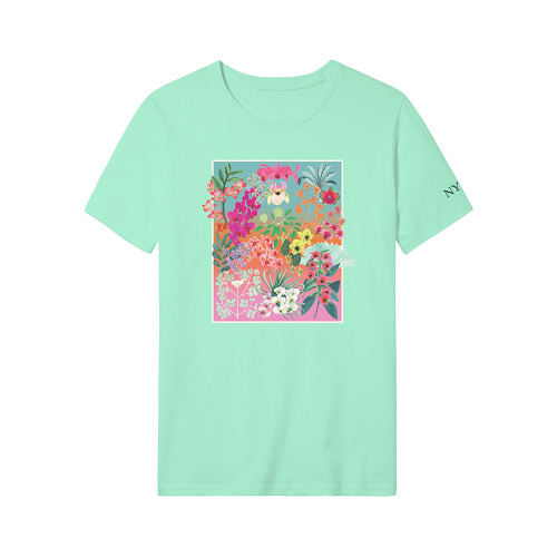 NYBG Orchid T-Shirt - Mint