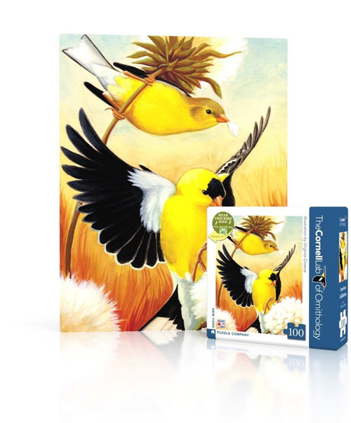 Goldfinch Mini Puzzle