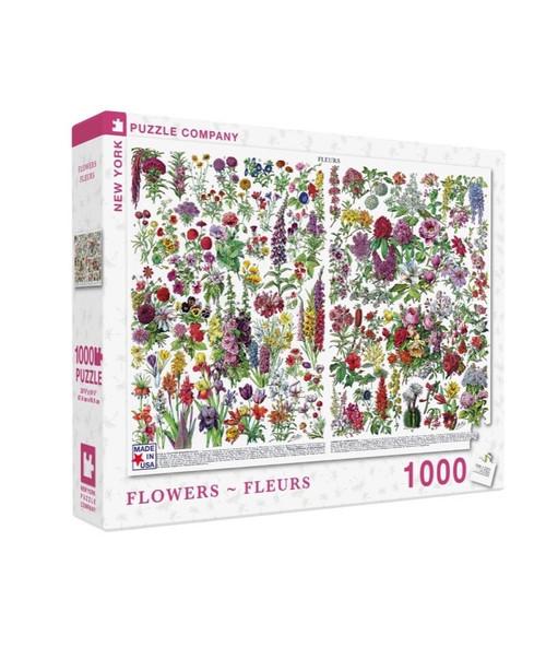 Flowers 1000 Piece Puzzle