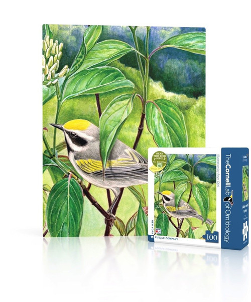 Golden-Winged Warbler Mini Puzzle