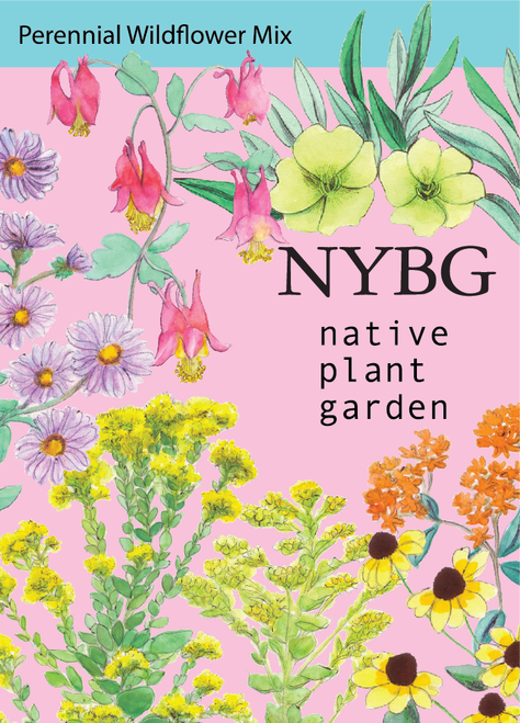NYBG Seeds - Wildflower Garden Seed Mix