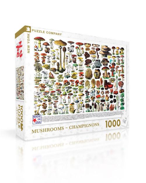 Mushroom Puzzle
