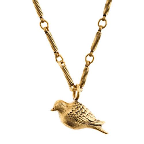 Peace Dove Medium Necklace